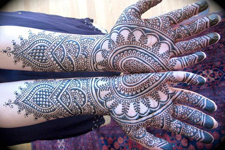 gujarati bridal mehndi designs 19 best styles that stand out. Black Bedroom Furniture Sets. Home Design Ideas