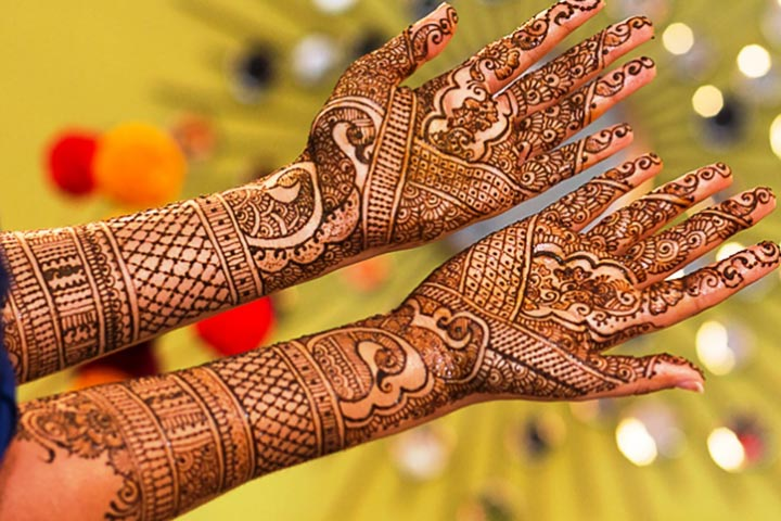 Mehndi Quotes For Him : Gujarati bridal mehndi designs best styles that stand out