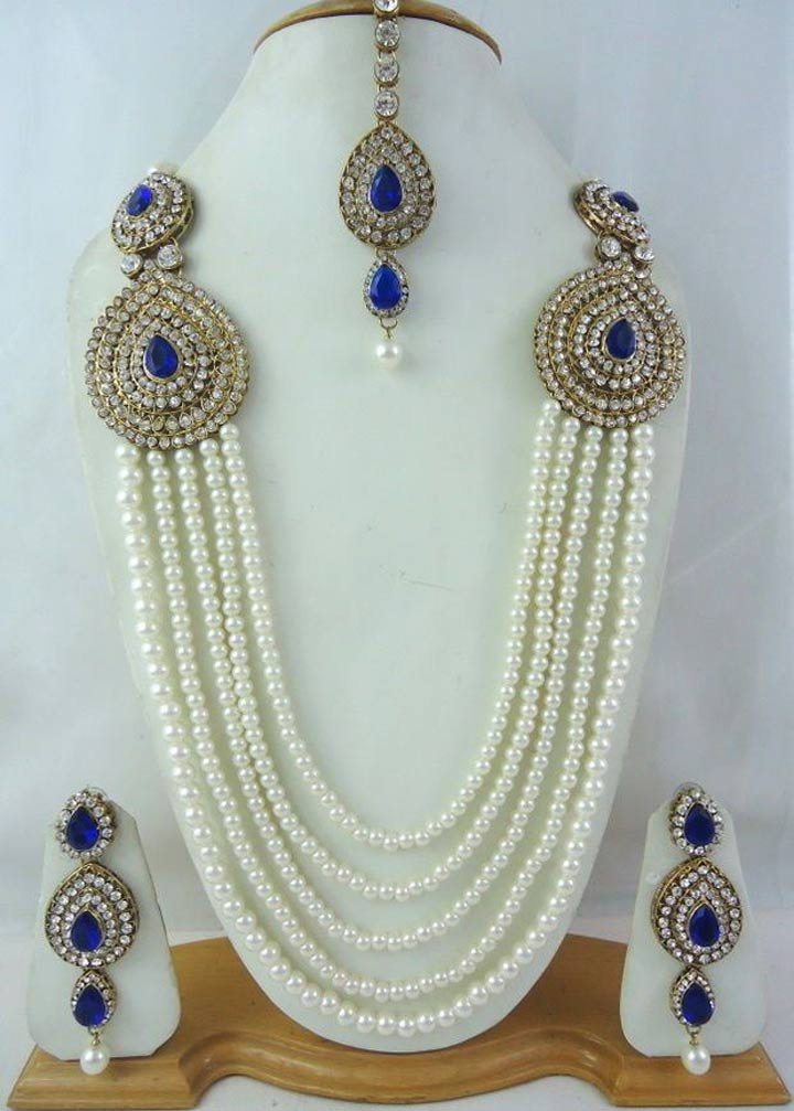 Bridal Jewellery On Rent-Haar