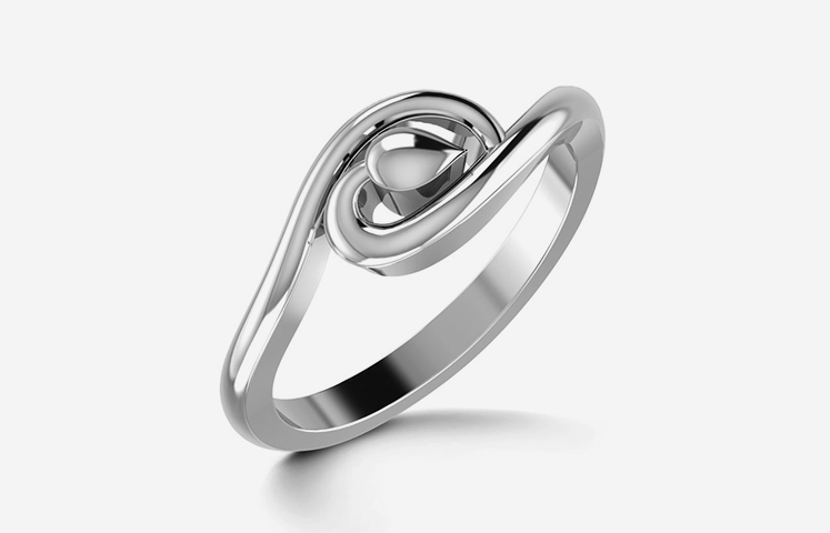 Harmony Platinum Ring