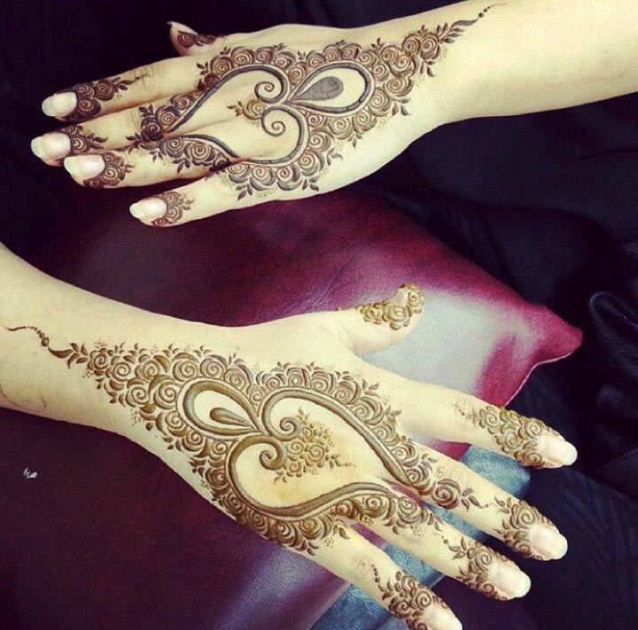 5 Spellbinding Heart Henna Designs That Celebrate Love