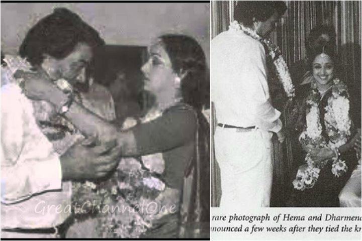 Hema and Dharmendra Marriage