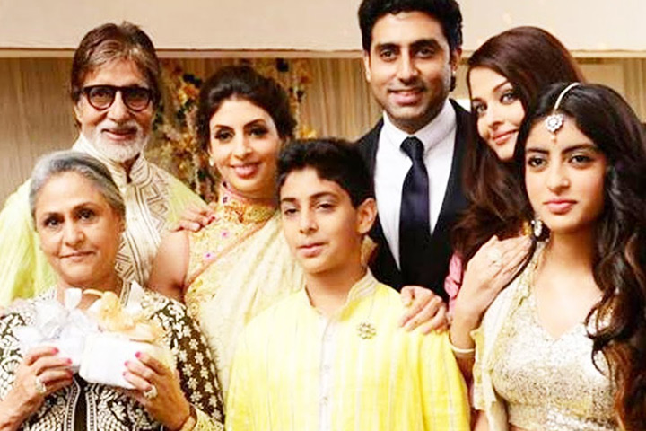 Jaya and amitabh family