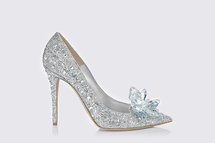 Designer Bridal Shoes - Jimmy Choo's Cinderella Sandals