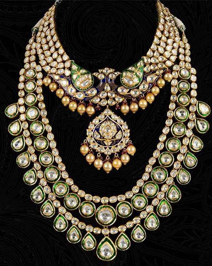 Bridal Jewellery On Rent-Kundan