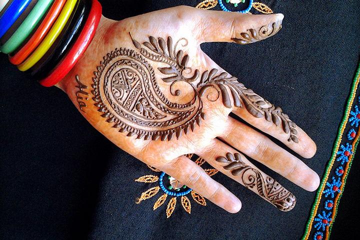 Mehndi Ideas For Groom : Fuss free mehndi design for groom