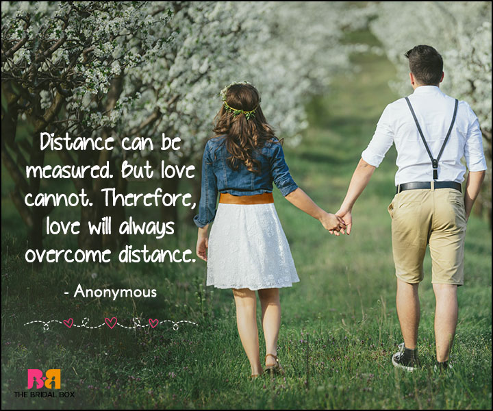 18 Long Distance Love Quotes For Her To Make An Impression