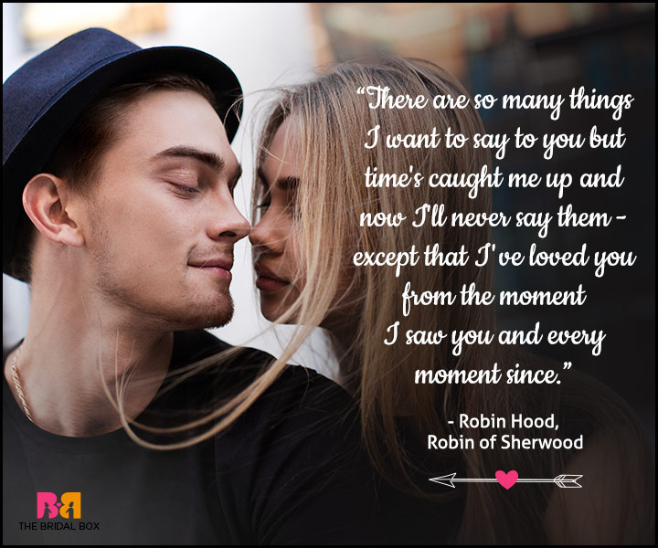 Love At First Sight Quotes - Robin Hood