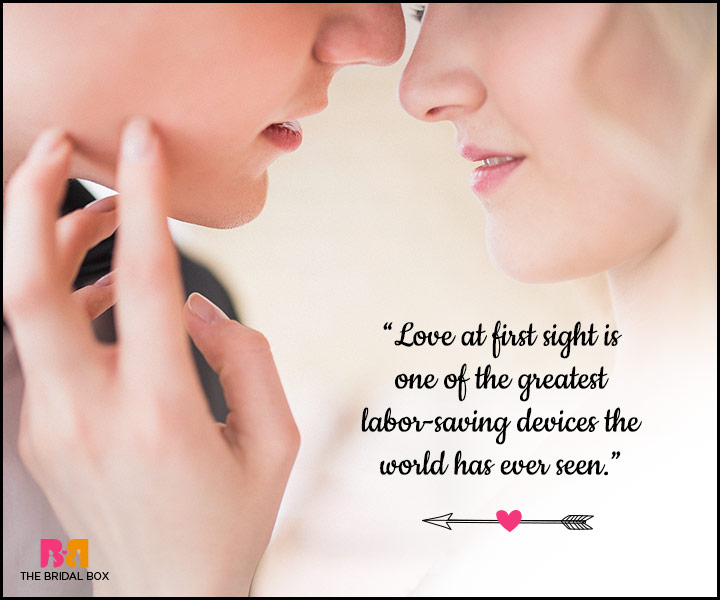 Quotes About Love At First Site Amusing Movie Quotes About Love At First Sight  It Was Love At First
