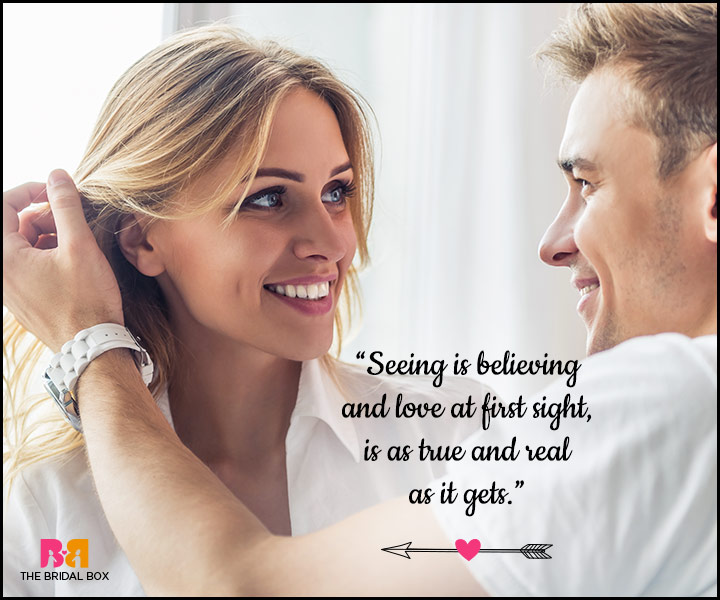 Beautiful Quotes About Love At First Sight : 20 Best Love At First Sight Quotes To Share!