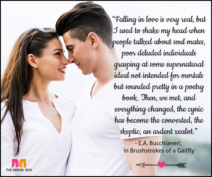 Love At First Sight Quotes - E. A. Bucchianeri
