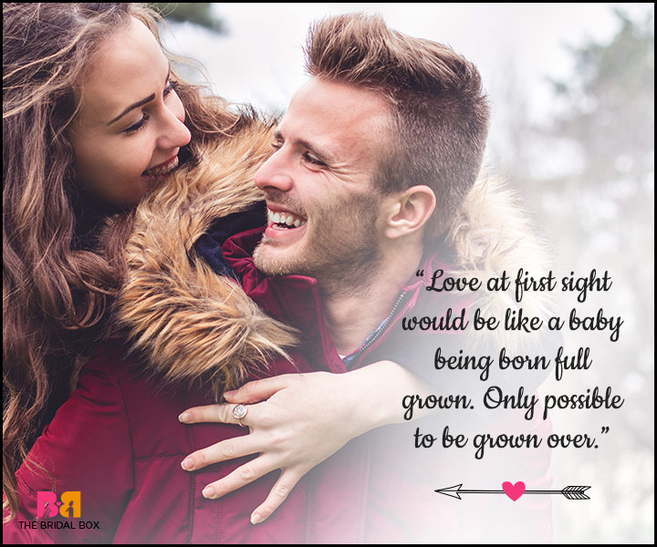 Love At First Sight Quote - 8