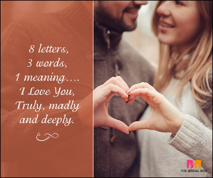 True Love Quotes For Her - 8 Letters