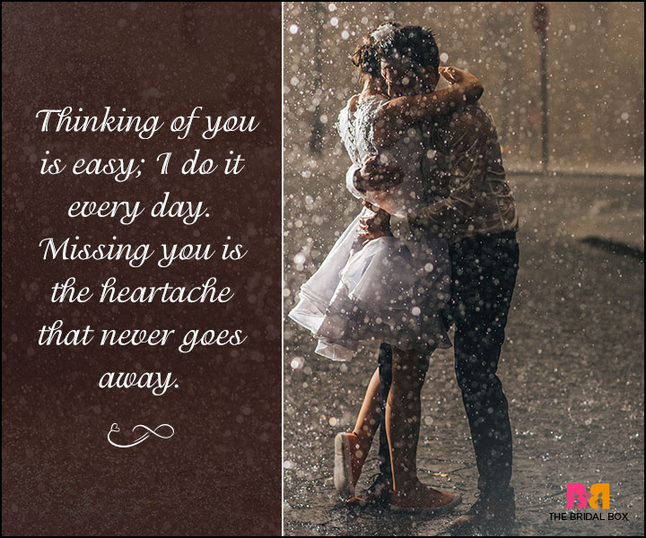 True Love Quotes For Her - Thinking Of You