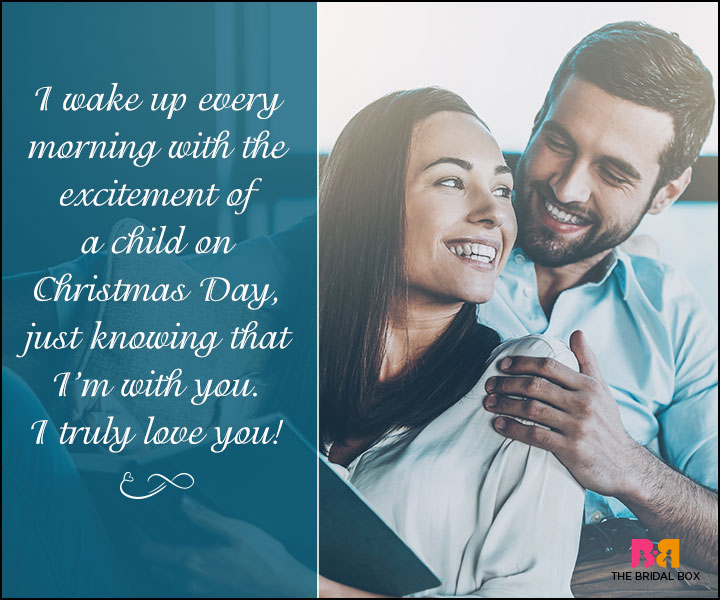 True Love Quotes For Her - Christmas Day