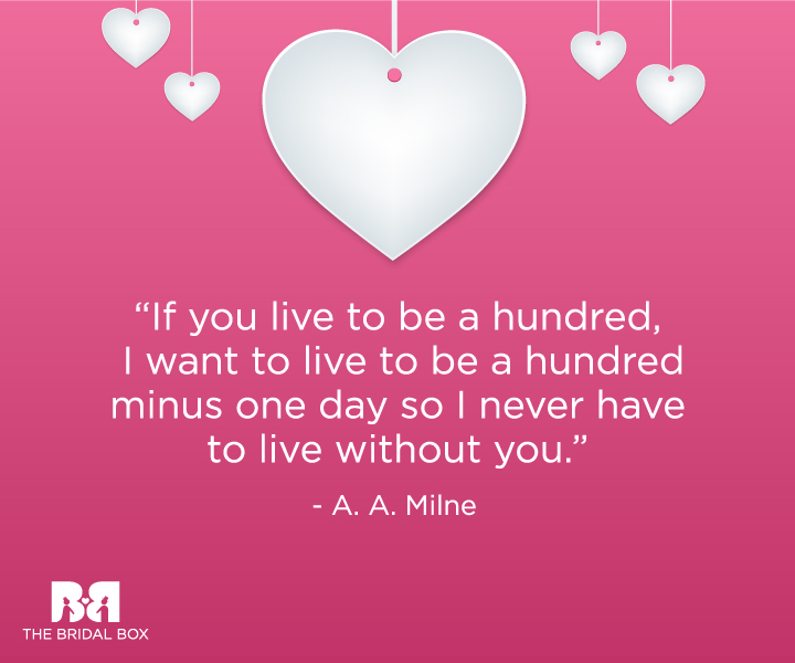 Love Anniversary Quotes 12 A. A Milne