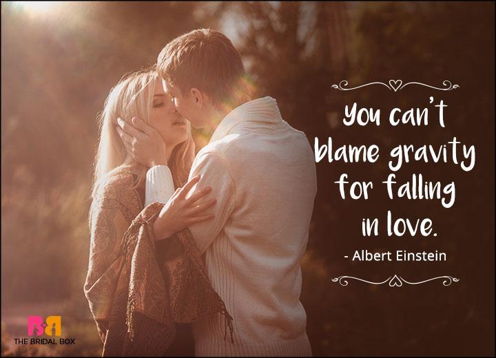 One Line Love Quotes - Albert Einstein