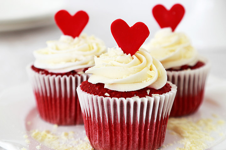 Wedding Cupcakes - Red Velvet Cup Cakes