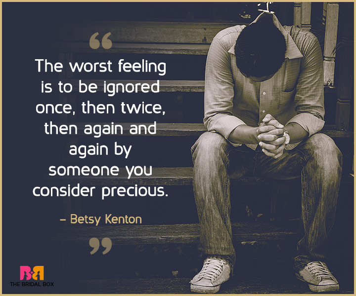 Sad Love Quotes For Her - Betsy Kenton