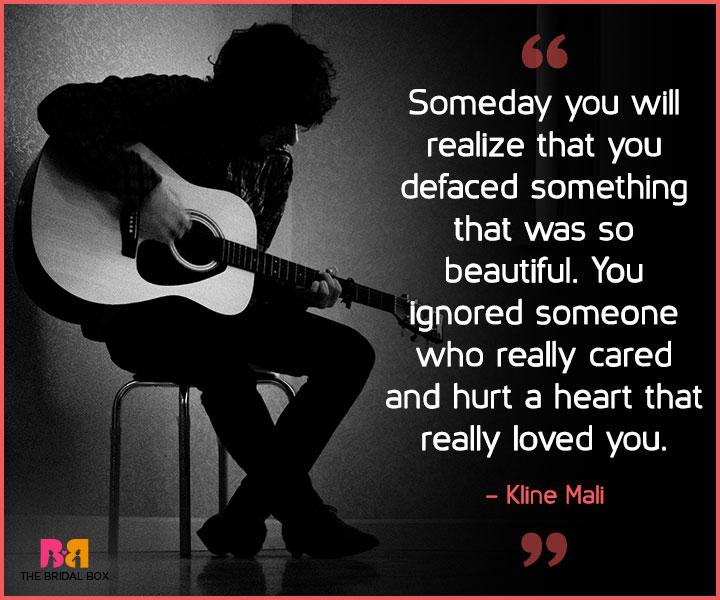 Sad past love quotes