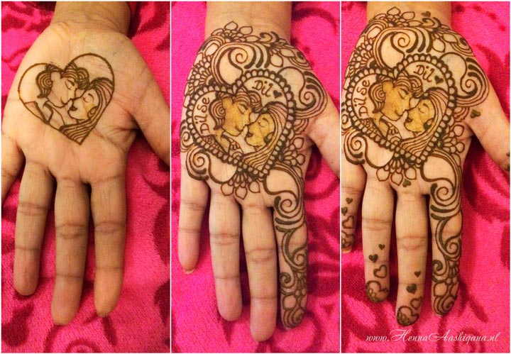 Henna Mehndi Love : Spellbinding heart henna designs that celebrate love