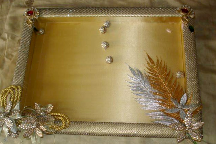 The Sparkling Rectangular Tray