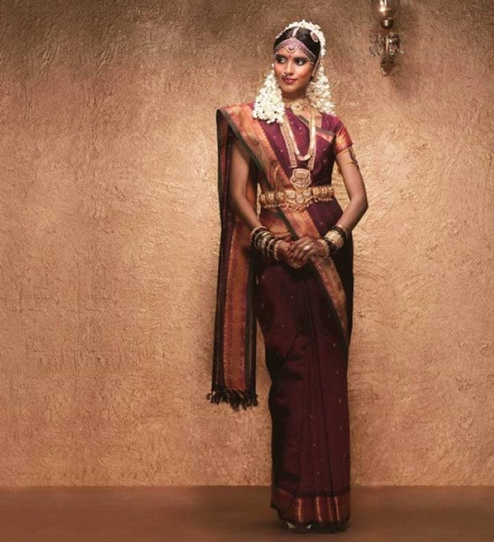 Traditional Tamilian Bride