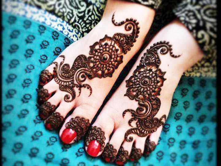 Mehndi Patterns For Legs : Mehndi designs for legs that are show stopping