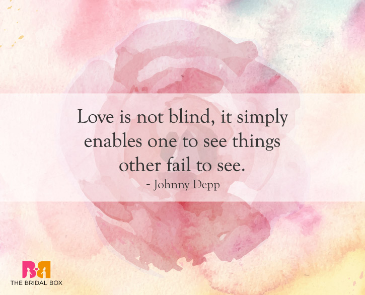 4 Love Is Blind Quotes