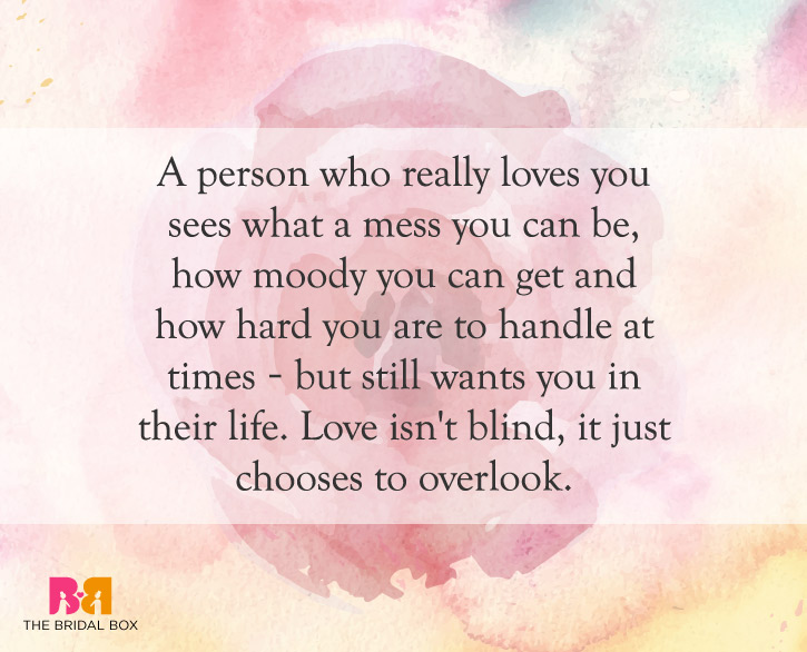 Blind Quotes Enchanting 10 Of The Best Love Is Blind Quotes For Lovers
