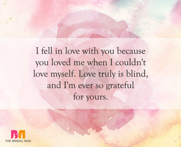 Quotes About Love: 10 Of The Best Love Is Blind Quotes For Lovers