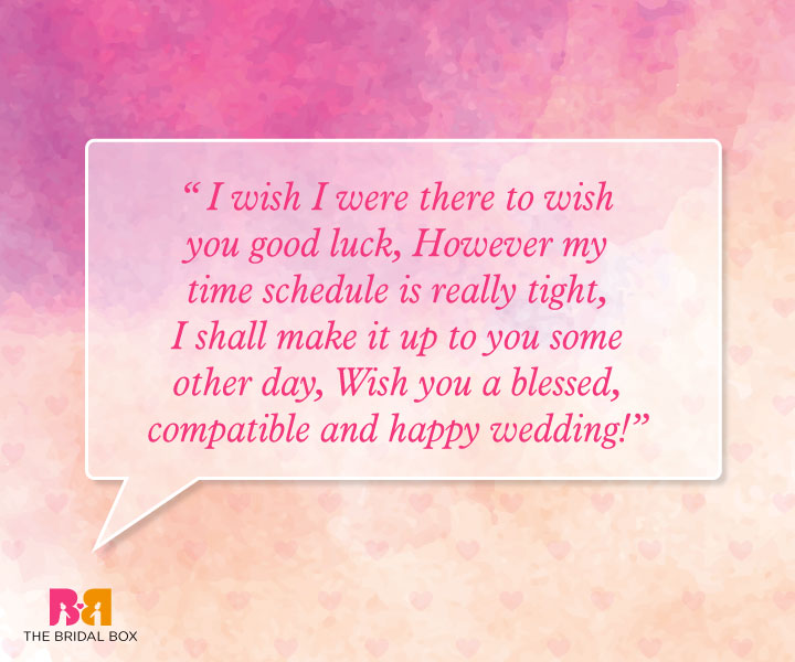 Marriage Wishes Quotes - Wish You A Blessed Wedding