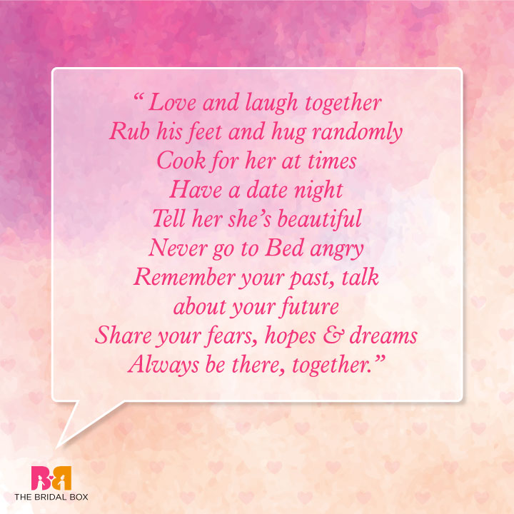 Marriage Wishes Quotes - Love And Laugh Together