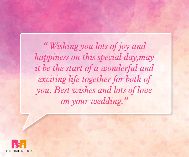 Marriage Wishes Quotes - Best Wishes