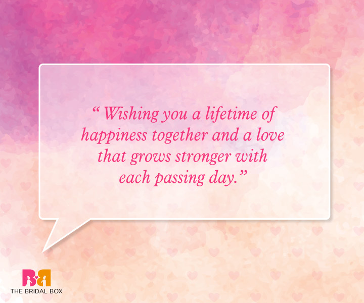 Marriage Wishes Quotes - Each Passing Day