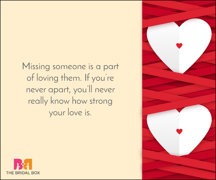 Missing Love Quotes - 5
