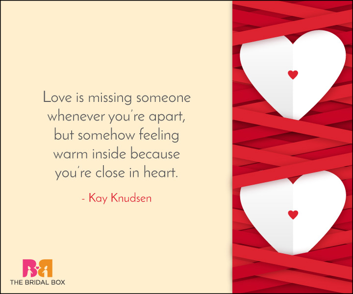 Missing Love Quotes - 7
