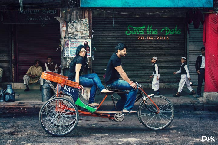 Engagement Photography - The Rickshawallah