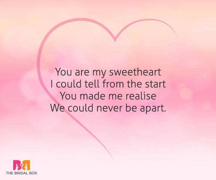 Short Love Poems For Him - 10