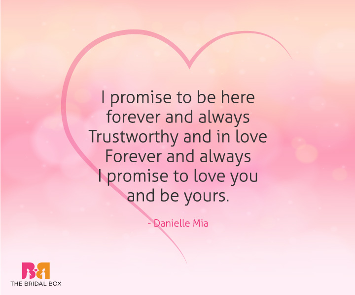 Short Love Poems For Him - Danielle Mia