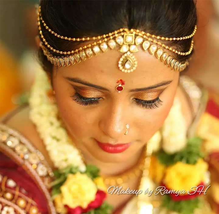 Tamil Bridal Makeup The Dusky Beauty