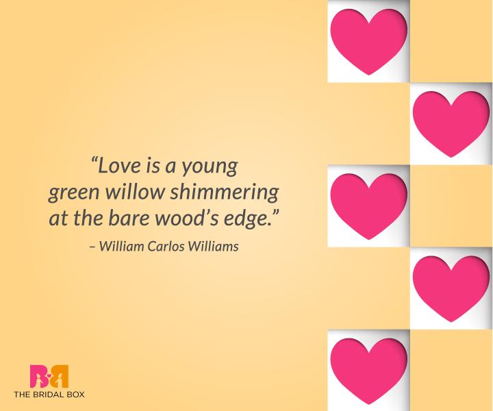 Deep Love Quotes For Him – William Carlos Williams