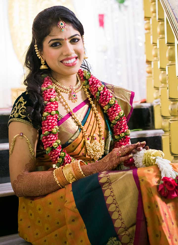 4 diy tamil bridal makeup looks to see to believe for Page 3 salon chennai