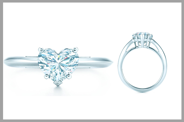 Tiffany Engagement Rings - Heart Shape