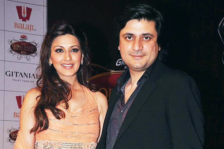 Sonali bendre marriage - With Goldie