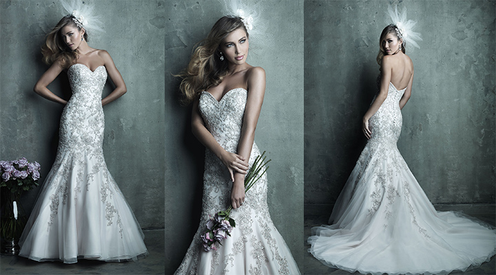 The Pretty Mermaid From The Allure Couture Collection