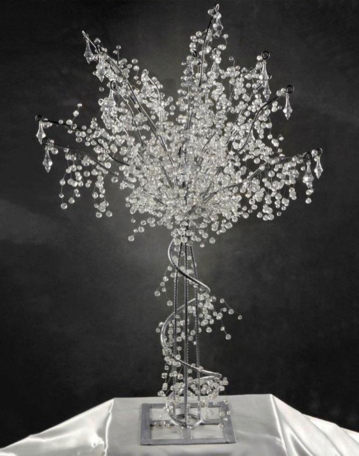 Crystal Corded Wedding Tree 5