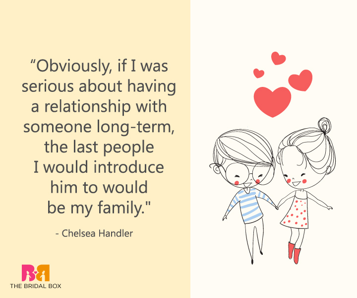 Funny Love Quotes For Her - Chelsea Handler