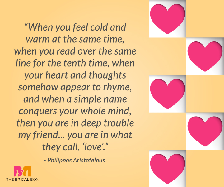 Deep Love Quotes For Him - Philippos Aristotelous