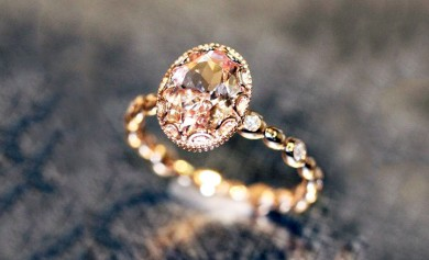 The Oval Pebble Engagement Ring